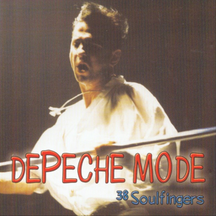 DEPECHE MODE the 38th strike - mixes: BACKUP CD
