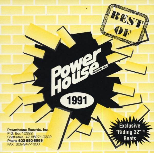 Powerhouse Very Best Of 1991: BACKUP CD
