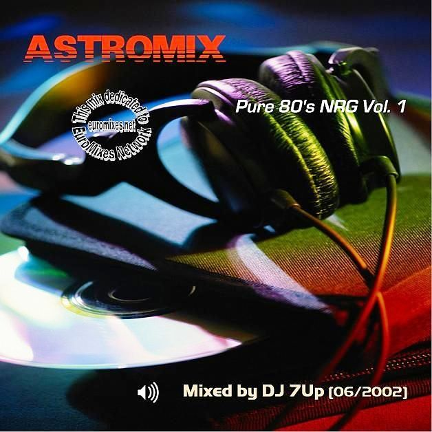 AstroMix Pure 80s NRG - Vol.1: BACKUP CD
