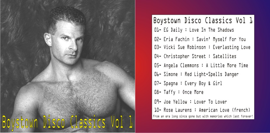 Boystown Disco Classics Vol 01: BACKUP CD