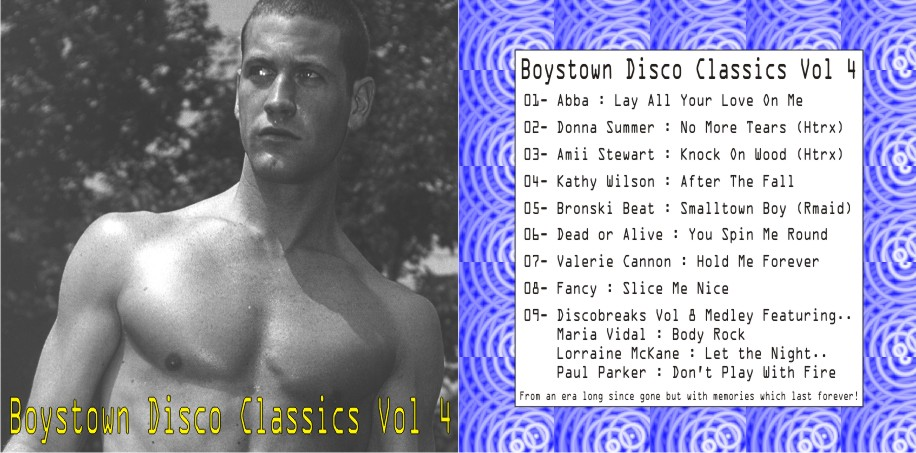 Boystown Disco Classics Vol 04: BACKUP CD