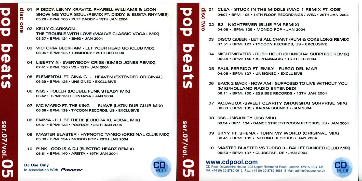 CD Pool Series 07 Vol 05