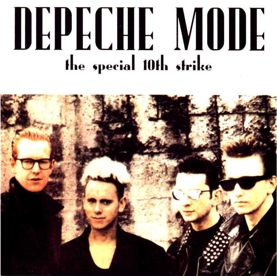 DEPECHE MODE the 10th strike - mixes: BACKUP CD