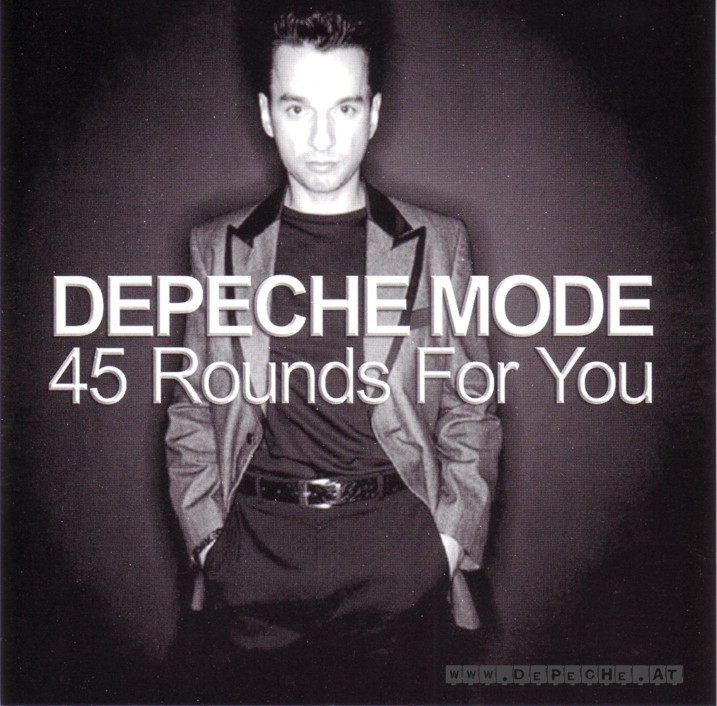 DEPECHE MODE the 45th strike - mixes: BACKUP CD