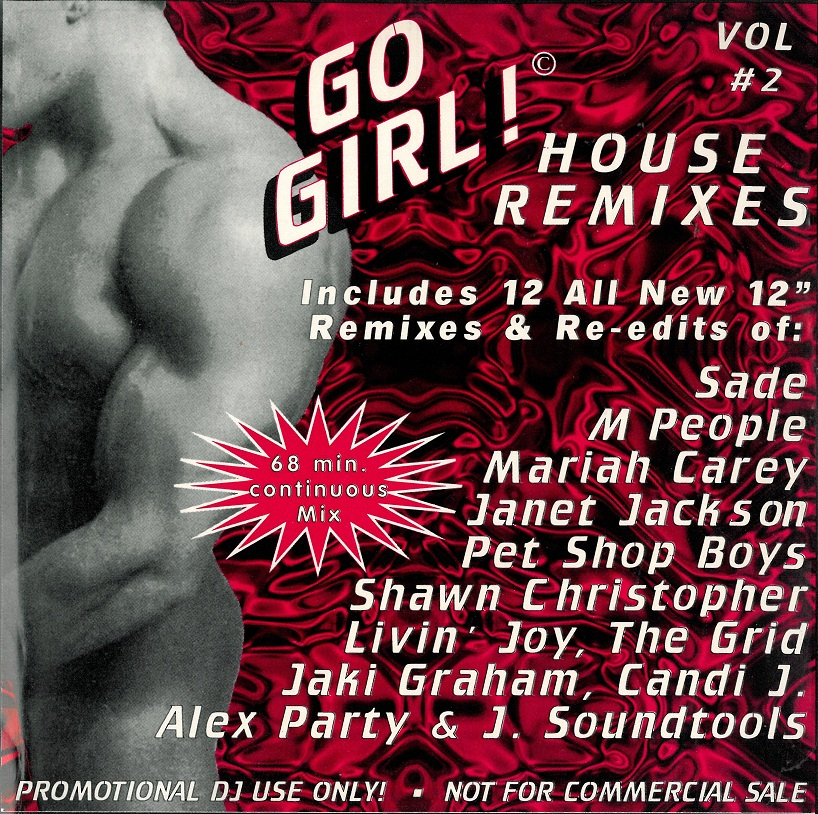 Go Girl! House Remixes Vol 02: BACKUP CD