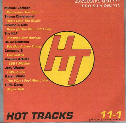 Hot Tracks 11-01: BACKUP CD