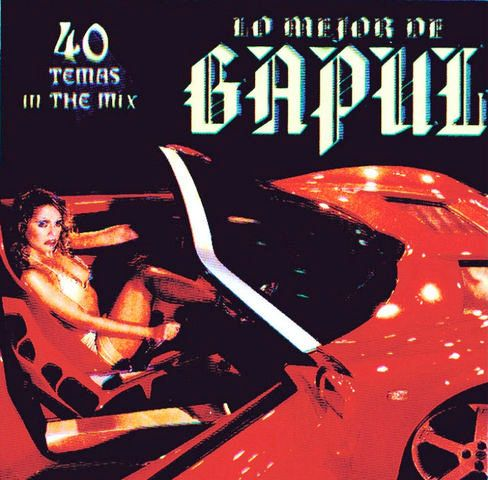 Lo Mejor De Gapul 40 Temas In The Mix: BACKUP CD