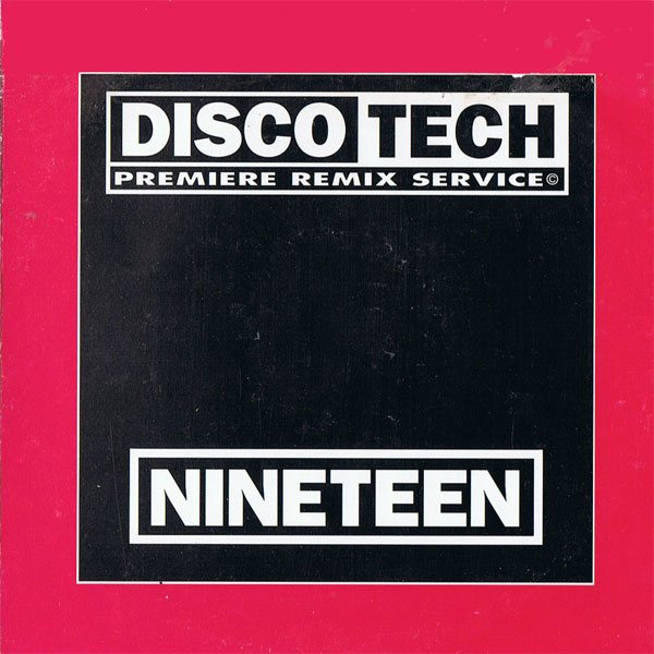 Discotech Vol 19: BACKUP CD