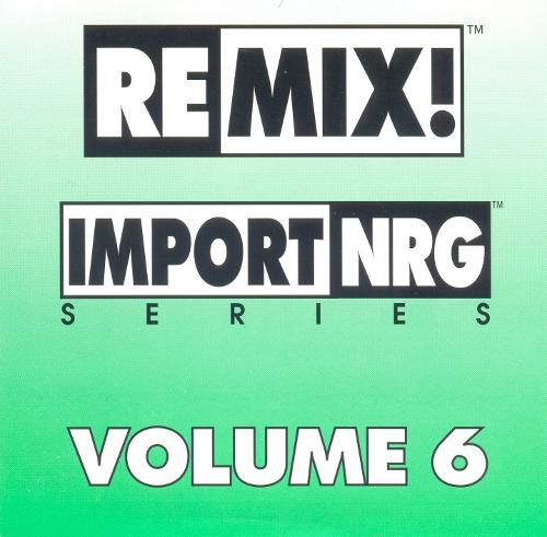 Remix! NRG Series Vol 06: BACKUP CD