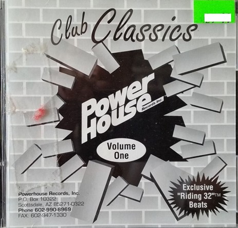 Powerhouse Club Classics Vol 01: BACKUP CD