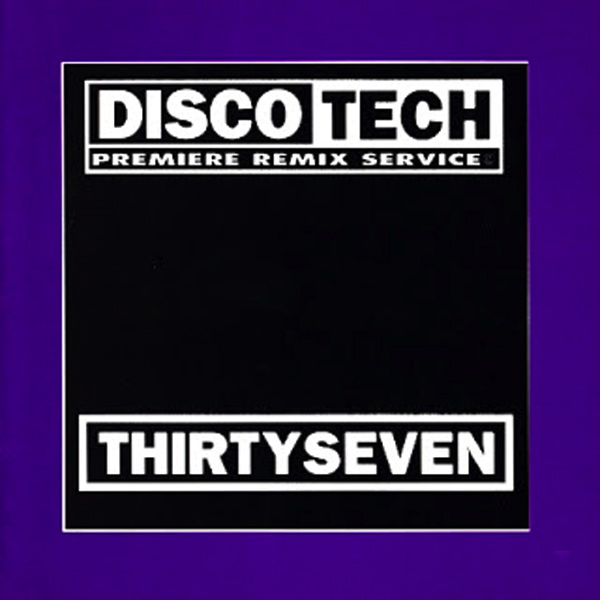 Discotech Vol 37: BACKUP CD