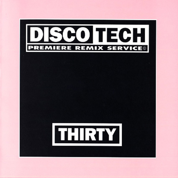 Discotech Vol 30: BACKUP CD