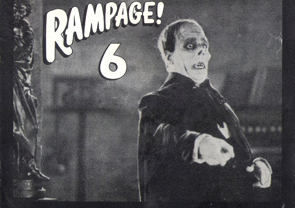Rampage Vol 6: BACKUP CD