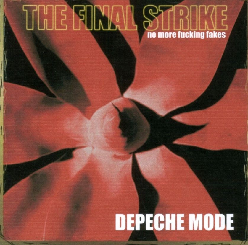 DEPECHE MODE the 36th strike - mixes: BACKUP CD