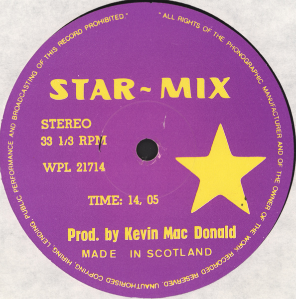 Star Mix - Moon Mix: BACKUP CD