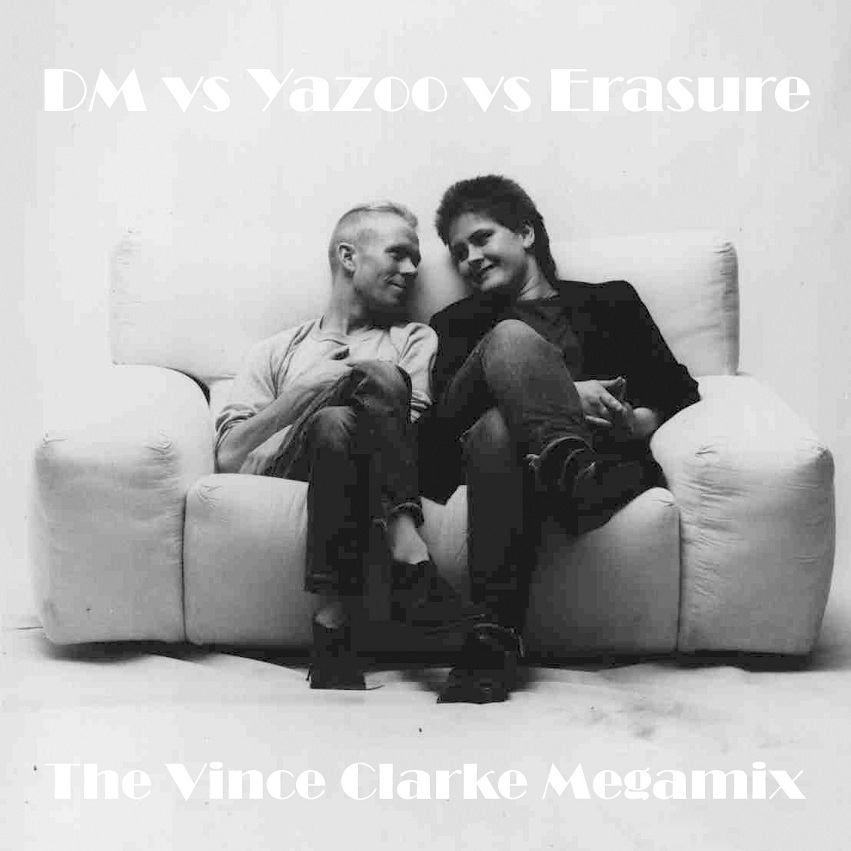 DM vs YAZOO vs ERASURE The Vince Clarke - The Megamix: BACKUP CD