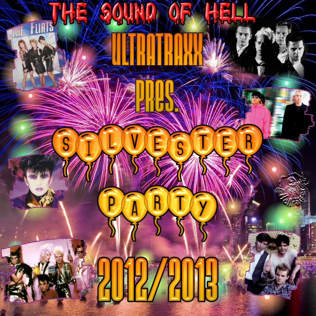 Ultratraxx Presents Silvester Party 2012-2013: BACKUP CD
