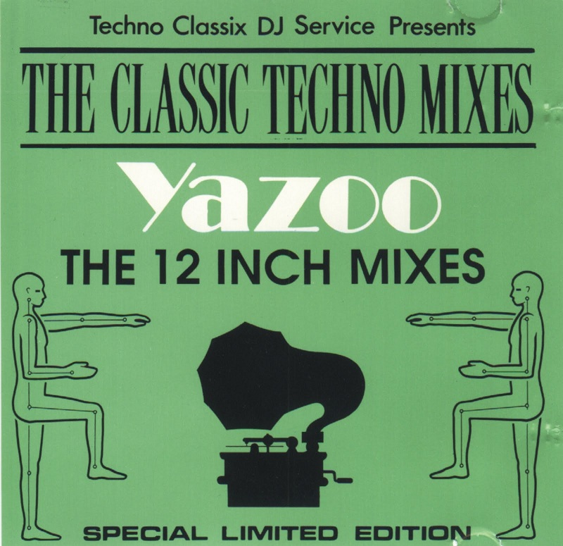 Yazoo The 12 Inch Techno Mixes: BACKUP CD