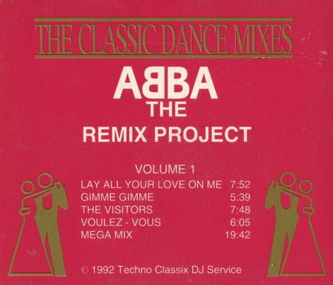 Abba The Remix Project Vol 1: BACKUP CD