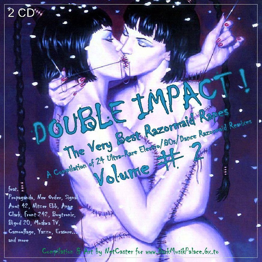 RAZORMAID! - Double Impact Razormaid Rapes Vol. 2: BACKUP CD