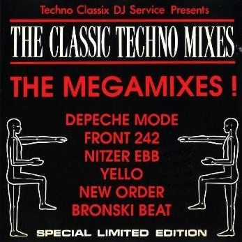 Classic Techno Mixes Service - The Megamixes: BACKUP CD
