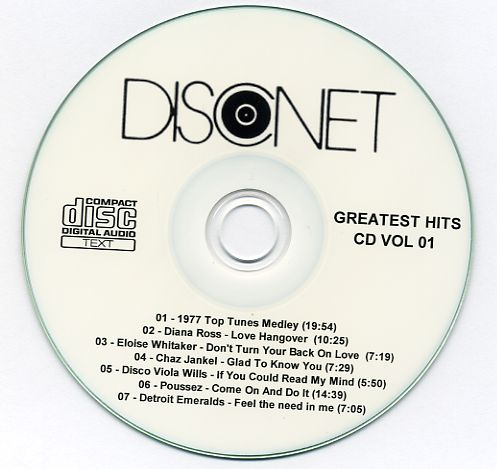 Disconet - The Ultimate Collection 27 cd set: BACKUP CD