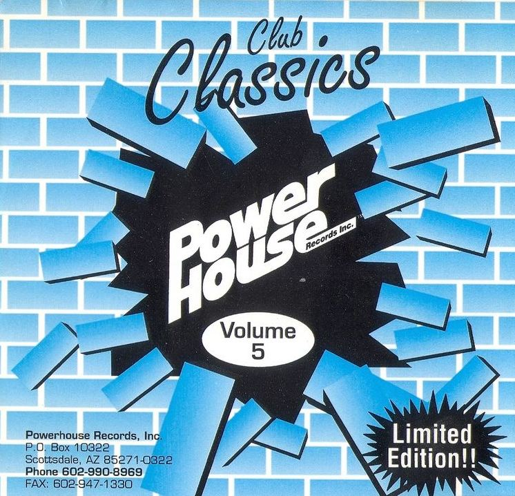 Powerhouse Club Classics Vol 5: BACKUP CD