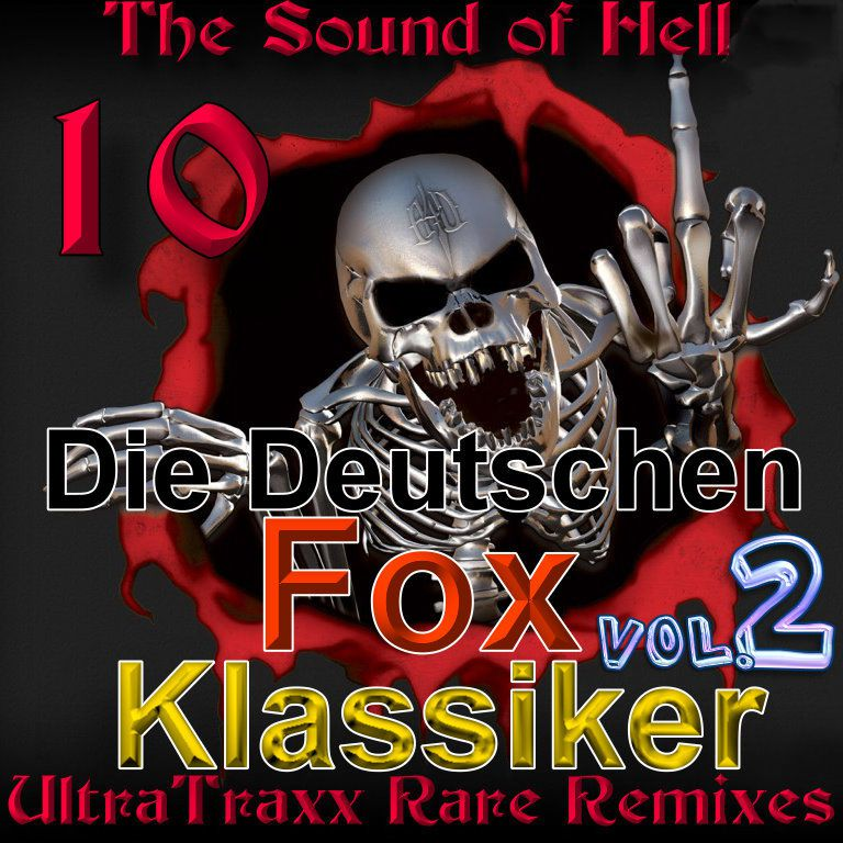 Rare Remixes - The Sound Of Hell Vol 10 - Ultratrax: BACKUP CD
