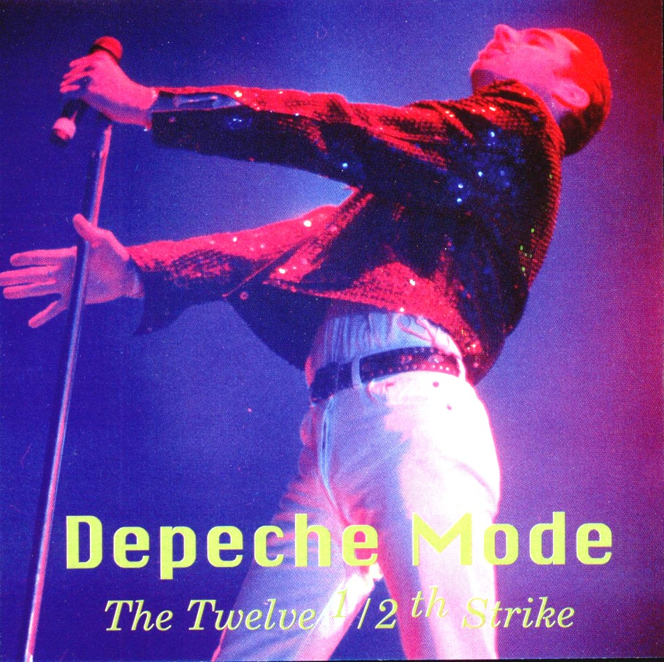 DEPECHE MODE the 12.5th strike - mixes: BACKUP CD