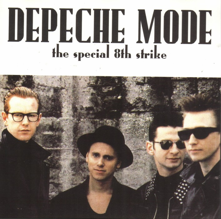 DEPECHE MODE the 8th strike - mixes: BACKUP CD